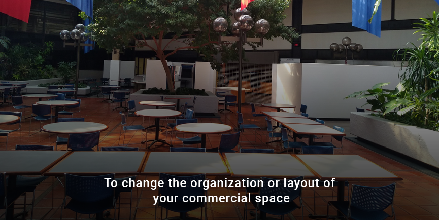 To organize the place