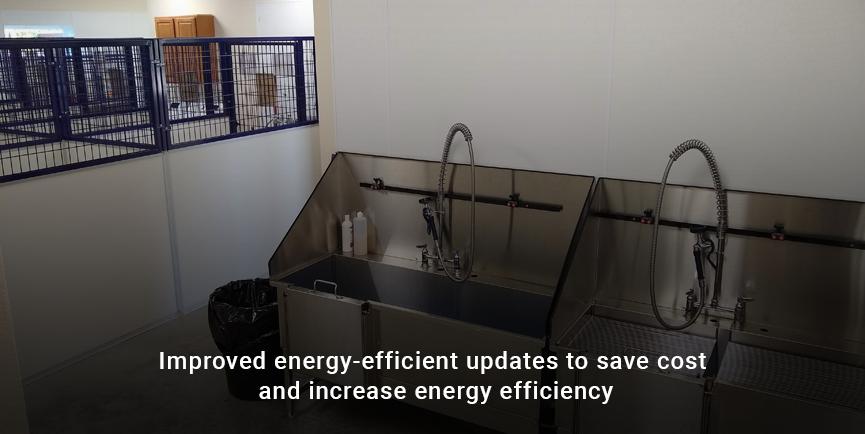 Updated cost-efficient equipment